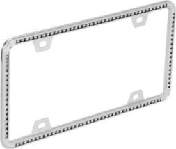 Diamond- Chrome License Plate Frame - $20.39