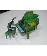 Chalmers Originals Stained Glass Grand Piano and Player; 1980 - $28.95