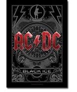 AC/DC Textile Poster (Black Ice) - $18.00