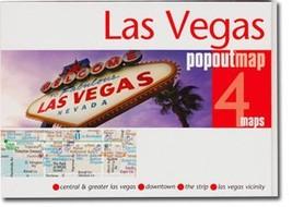 Las Vegas Popout Map - $8.34
