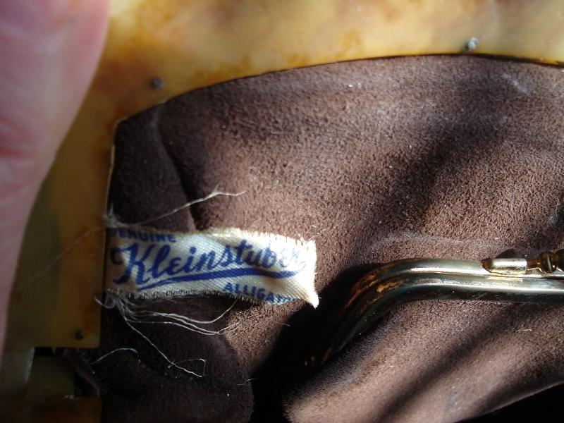 Vintage Kleinstuber Alligator Purse Handbag