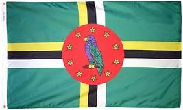 Dominica - 3'X5' Nylon Flag - $55.20