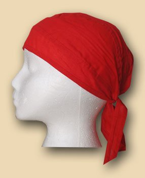 Solid red headwrap 9153