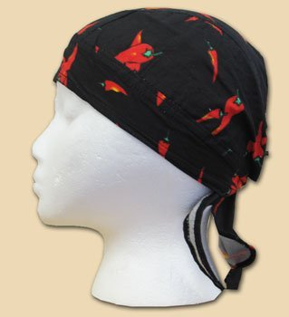 Red chilies ezdanna headwrap 10629