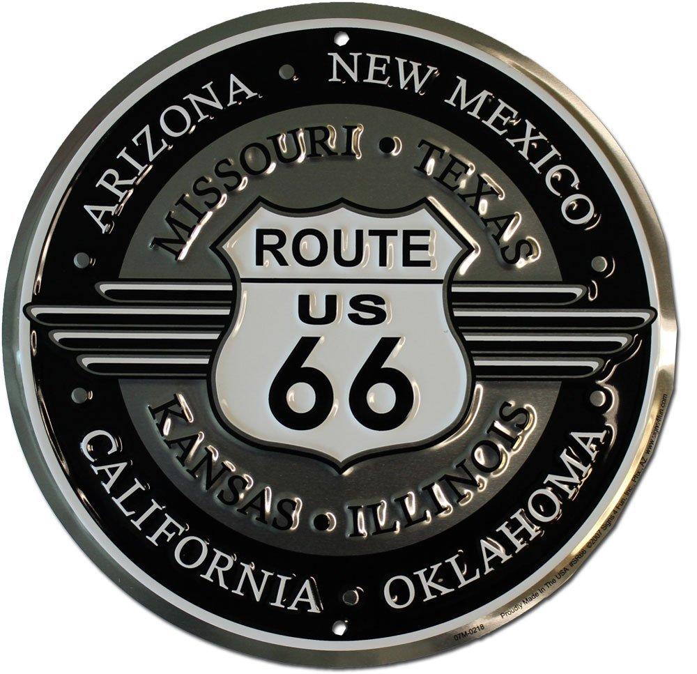 Route 66 deco sign