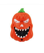 Halloween LED Flashing Sound Pumpkin Doorbell Talking Jack O Lantern Dec... - £8.45 GBP