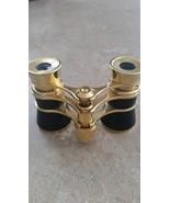Vintage Old Opera Glasses Binoculars Gold & Black - $29.99