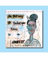Handmade Watercolor Greeting Card Motivational ... - $3.65