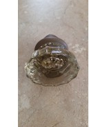 Antique Glass & Rustic Metal Knob or Door Knob - $19.99