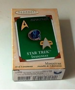 Star Trek Insignias Hallmark Keepsake Ornaments - $9.99