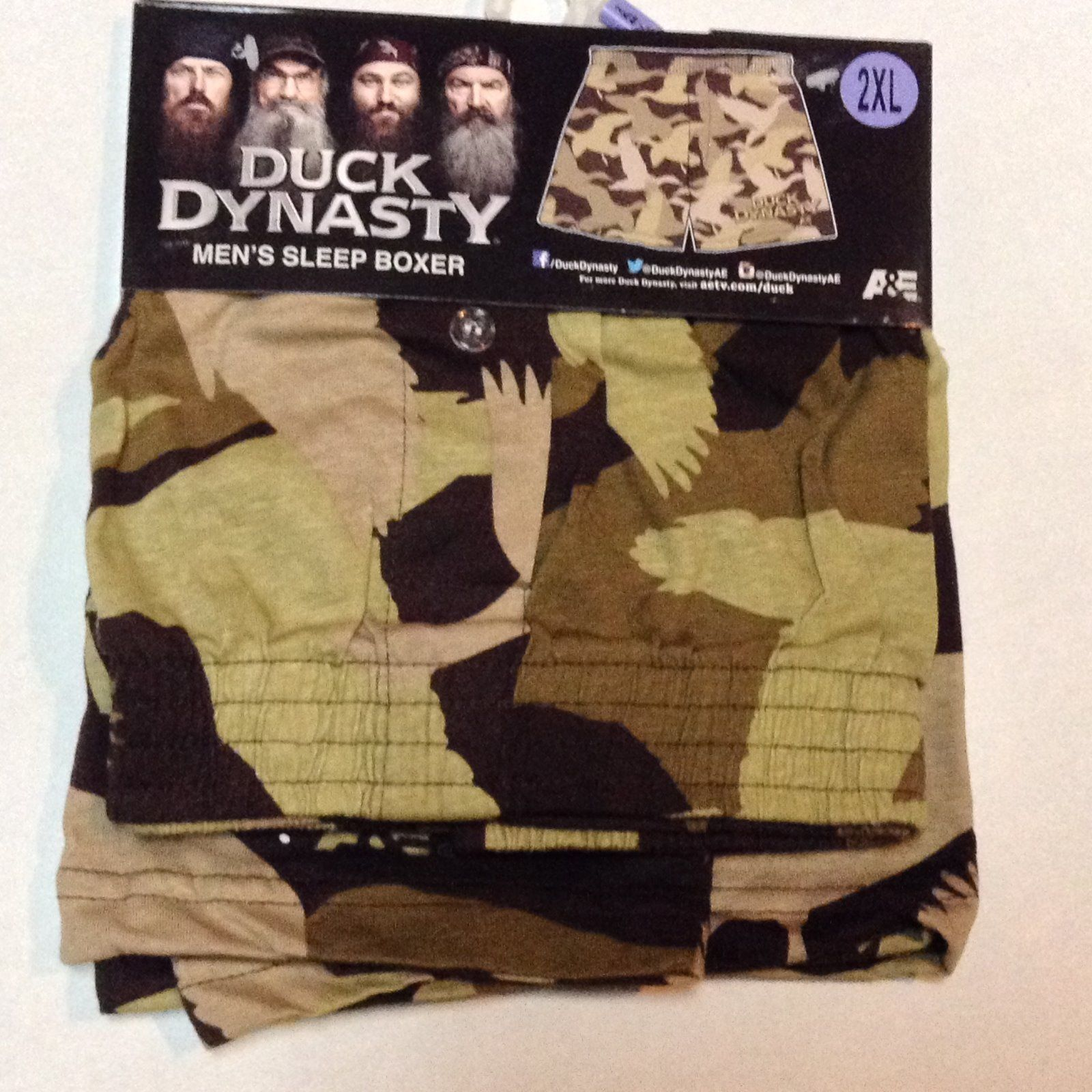 Camouflage boxers duck 2 xl