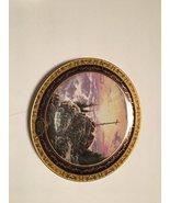 BRADFORD EXCHANG SUNRISE BY THOMAS KINKADE COLLECTOR PLATE - $49.25