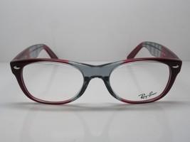 Ray Ban RB 5184 5517 New Wayfarer Red/Grey RX Eyeglasses 50mm - 24 - $47.66