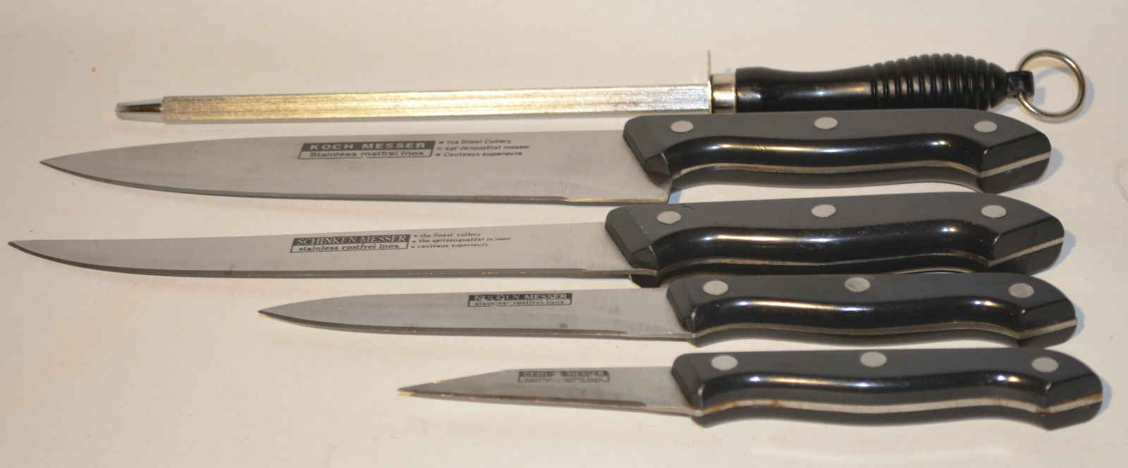 Messer Kitchen Knife Set