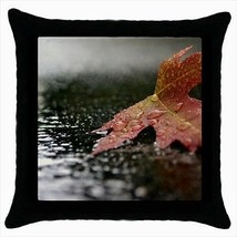 Red Maple In Autumn Throw Pillow Case - $16.44
