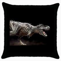 T-Rex Tyrannosaurus Dinosaur Throw Pillow Case - $16.44