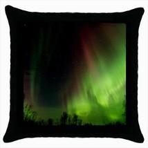 Aurora Lights Alaska Throw Pillow Case - $16.44