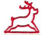 Mhmr red metal reindeer bellpull thumb155 crop