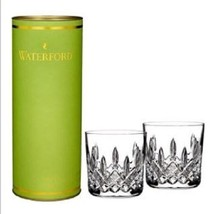 Waterford Giftology Lismore 9 oz Tumblers, PAIR, Brand New in Box - $122.00
