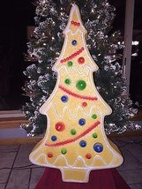 """New Vintage 29"""" Union Don Featherstone Christmas Gingerbread Tree Blow M... - $89.09"""