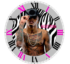 August Alsina R&B Artist Singer Wall Clock - $16.99