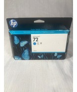 GENUINE HP 72 Cyan Ink C9371A, Warranty Expiration Date AUG 2014 - $28.71