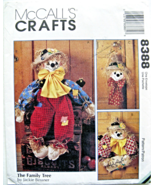 "McCall's Crafts 8388 Scarecrows 38"" Doll Wreath & Wallhanging Pattern - $8.95"