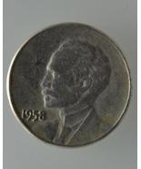 1958 Cuba One centavo LAST Pre-CASTRO 1 year ty... - $28.00