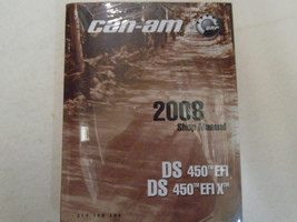 2008 Can Am DS450 DS 450 DS450EFI X Service Shop Repair Manual NEW - $188.05