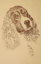 English Springer Spaniel Dog Art Print #55 Klin... - $49.45