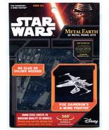 Metal Earth Star Wars Collection 3 Lot of 4 Models Snowspeeder Kylo Ren - $49.49