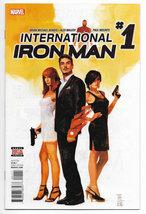 International Iron Man #1 2016 Marvel Comics (NM) - $3.99