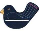 Bpsb blue spring bird wooden thumb155 crop
