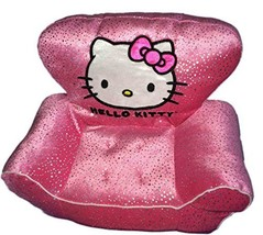 Build a Bear Pink Sparkle Hello Kitty Chair Teddy Size Plush Toy BAB Accessory - $59.99