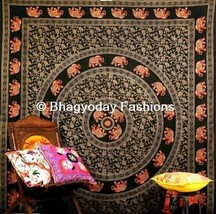 Wall Hanging Mandala Ethnic Indian Tapestry 100%Cotton Bedspread Cover A... - $417,91 MXN