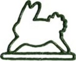 Mhmb green bunny metal thumb155 crop
