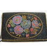 Rectangular Multicolored Beaded Evening Bag - $27.00