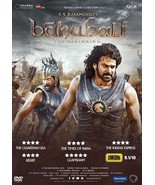 Bahubali The Beginning DVD - Hindi Prabhas, Rana, Tammana Bollywood film - $14.84