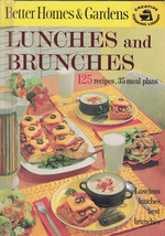 Lunches And Brunches - Better Homes & Gardens 1963 Illustrated - $17.75