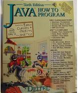 Java How to Program  (6th Edition)  - $24.95