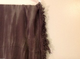 Charcoal Gray Scarf with Tie Die Design, New w/ Tags image 6