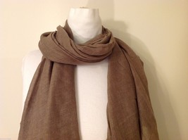 Light Brown Rectangle Scarf, new! image 2