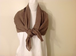 Light Brown Rectangle Scarf, new! image 3