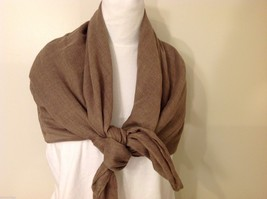 Light Brown Rectangle Scarf, new! image 4