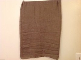 Light Brown Rectangle Scarf, new! image 5