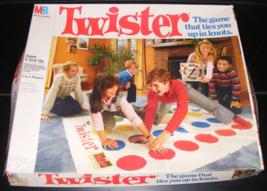1966 Twister Game by Milton Bradley - $30.00