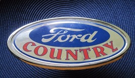 """Ford Truck Suv 2"""" Towing Bumper Hitch Cover Plate """"Ford Country"""" - $4.95"""
