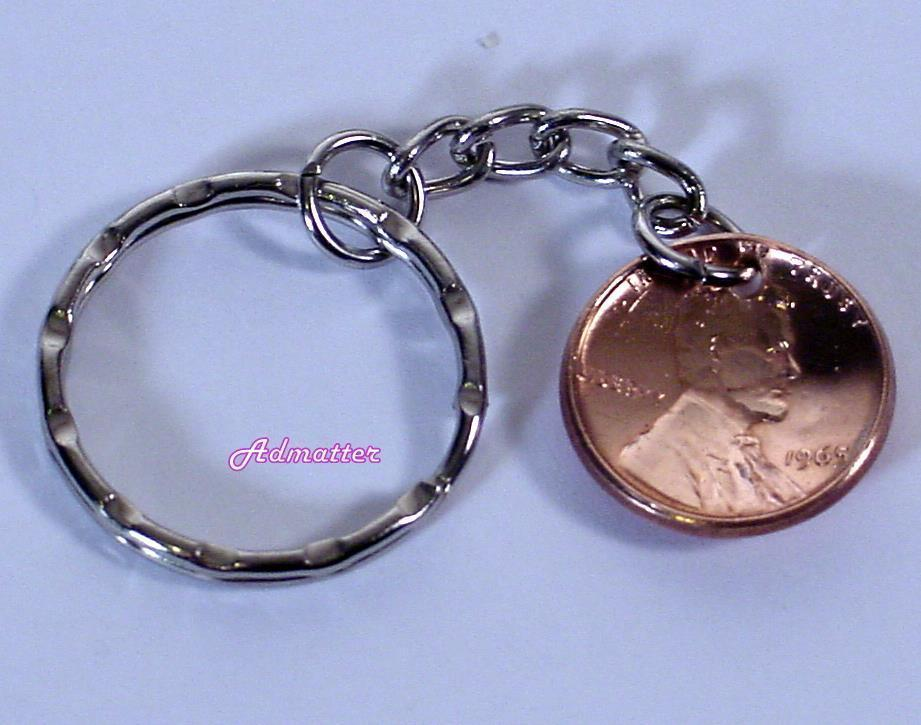 1999 Lucky Penny Key Chain 16th Birthday and 50 similar items