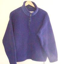 Girl's Columbia  Purple Fleece Pull Over Jacket -- Size 12 - $8.59