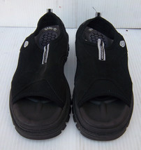 Women's Skechers G-Tech Black Slip On Sandals Shoes -- Size 7 - $14.89